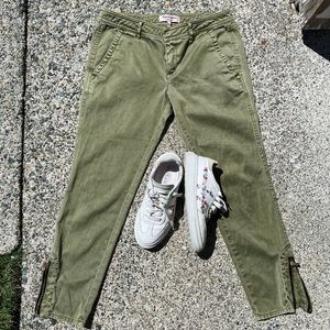Juicy Couture Army Green Skinny Jeans Size 4